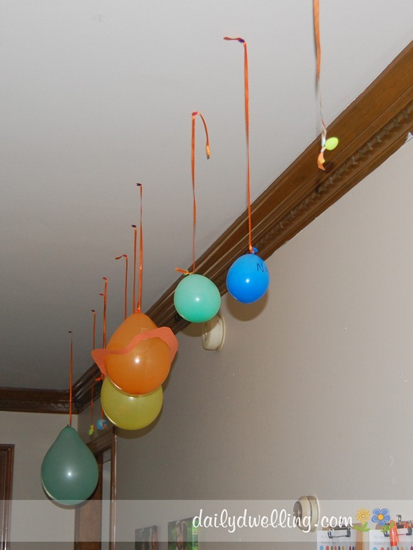 Colors of planets for science project pics about space - Hanging planets decorations ...